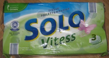 Toilettenpapier Vitess 3-lagig – Aldi