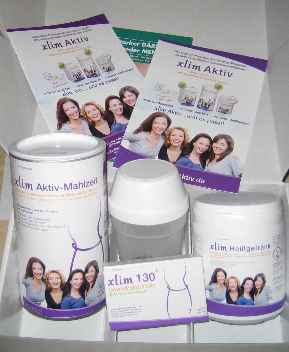 xlim Aktiv – Das erste Stoffwechsel-Aktivierungs-Programm mit patentgeschütztem Süholzwurzel-Extrakt