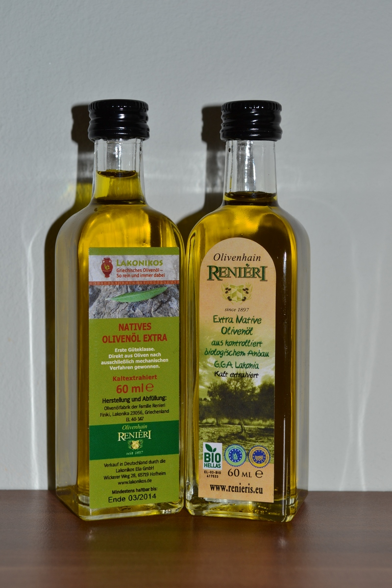 Produkttest Lakonikos Olivenöl