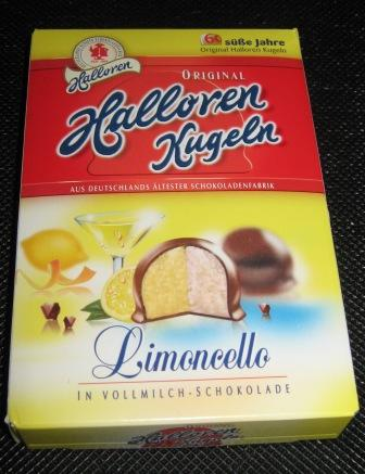 Halloren Kugeln Limoncello-Creme in Vollmilchschokolade – Halloren