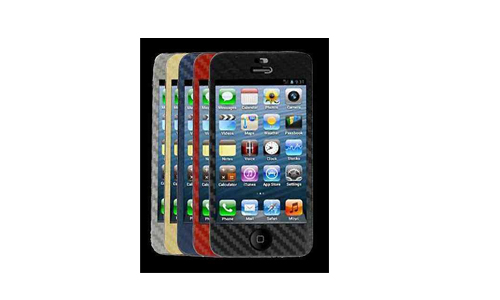 Ergebnisse Produkttest iPhone 5 Carbon Folie