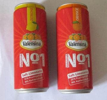 Valensina Saft-Limonade No 1 – Zitrone und Orange