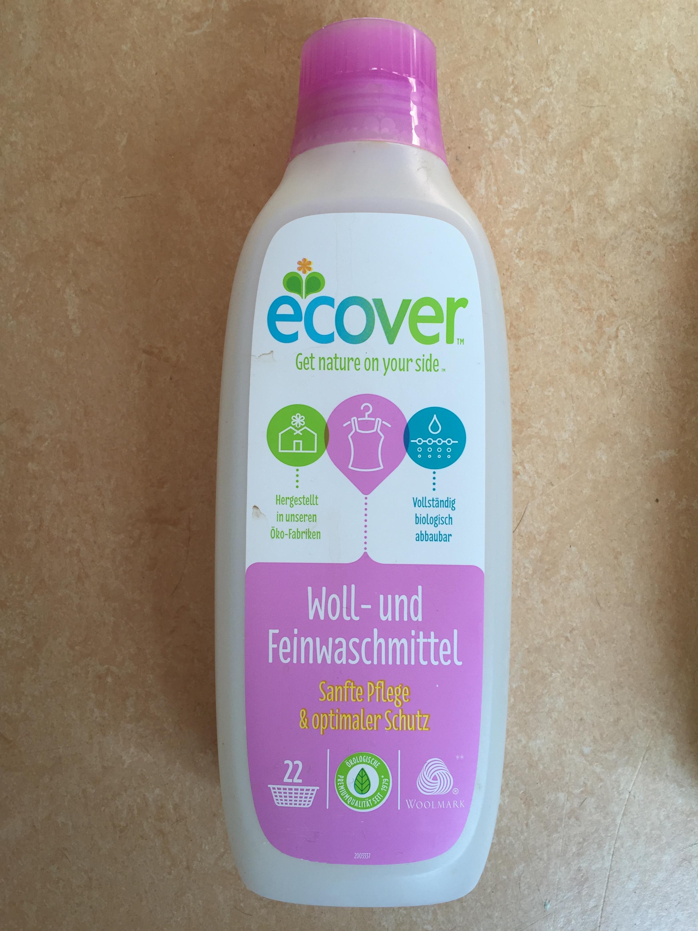 Ecover – ökologisches Waschmittel